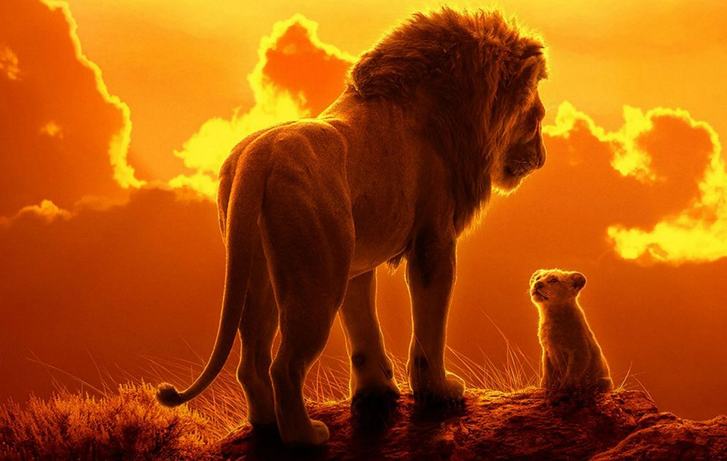 film animasi : Lion King