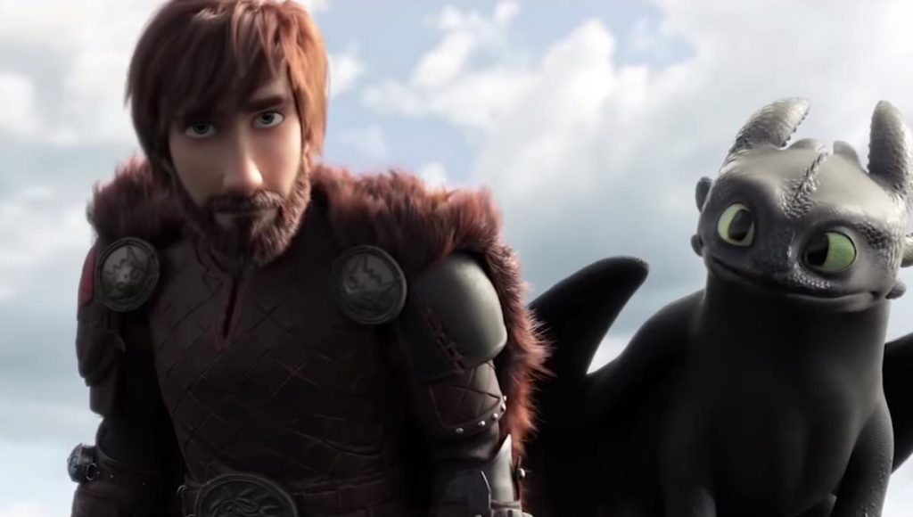film animasi : How to train your dragon 3