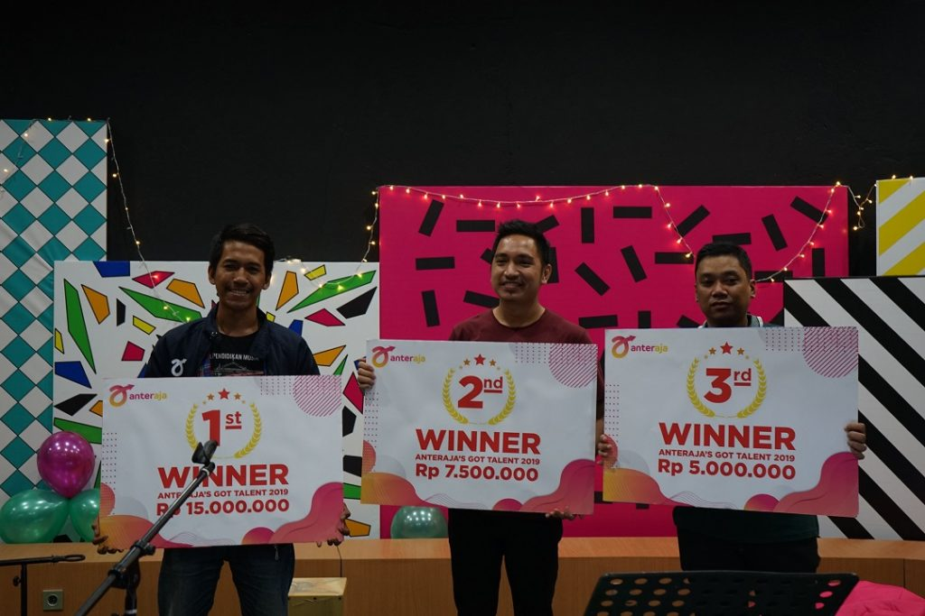 hasil pemenang anteraja got talent